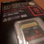 SanDiskのUHS-1規格SDHCカードを買ってみました!