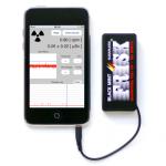 iOSアプリとフリスク105円と送込4050円でつくるガイガーカウンター
