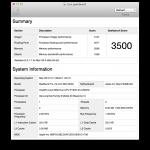 MacBook Pro13″ Mid2009(990JA)に10.7 Lionを入れてのベンチマークを計ってみました