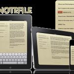 すばらしくシンプルな同期型ノートアプリ『notefile』が快適です!