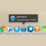 OS10.7 LionのiTunesで再生中の曲のタイトルをDockに表示させる方法