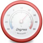 Macのお天気情報は「Degrees」でシンプルにチェックしましょう!
