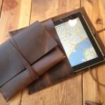 トラベラーズノート好きにおすすめ?の「iPad leather case」