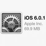 iOS6.0.1ソフトウェアアップデート《2012.11.02》