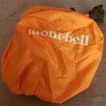 外出中の急な雨雪に備えてmontbellのカメラ用レインカバーを購入しました