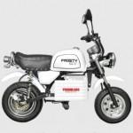 これはEV版ゴリラ!?原付免許で乗れる電気バイク『フロスティEV』がかわいい
